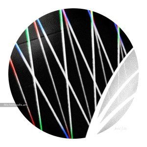 Achromatic Diffractions :: Non-objective abstract photography - Artwork © Michel Godts