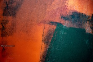 At Volcano's Edge :: Abstract expressionism photography - Artwork © Michel Godts