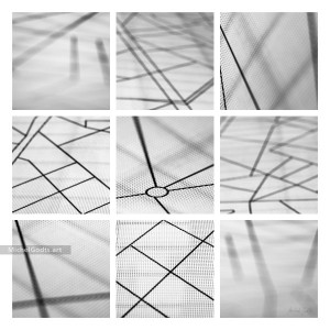 City Blocks :: Black & white non-objective experimental abstract photography - Artwork © Michel Godts