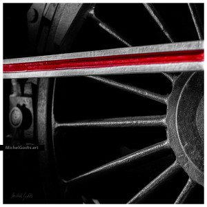 Coupling Rod Abstract :: Abstract realism photography - Artwork © Michel Godts