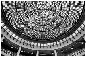 Dome Galerie Ravenstein :: Black and white architecture photography - Artwork © Michel Godts