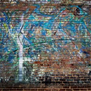 Graffiti Chaos :: Urban graffiti decay photography - Artwork © Michel Godts