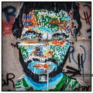 Graffiti Persona :: Urban graffiti photography - Artwork © Michel Godts