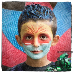 His First Parade :: Portraiture Photography - Artwork © Michel Godts