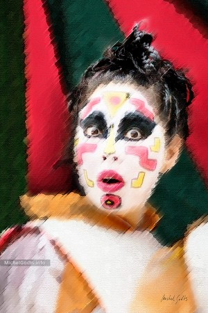 Parade Portraits—Spellbound :: Digital photo painting - Artwork © Michel Godts