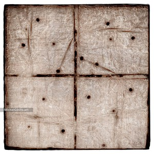 Rustic Wood Texture Abstract :: Non-objective experimental abstract photography - Artwork © Michel Godts