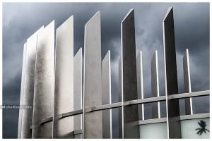 Spires Of Steel :: Photography of public art—wall art print - Artwork © Michel Godts