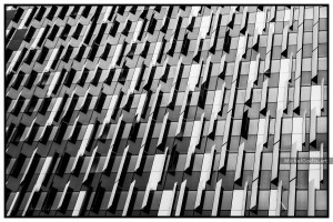 The One Brussels Abstract :: Black and white abstract architecture photography - Artwork © Michel Godts