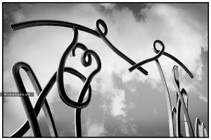 United :: Black and white photography of public art - Artwork © Michel Godts