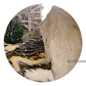 Urban Park Distortion :: Non-objective abstract photography - Artwork © Michel Godts