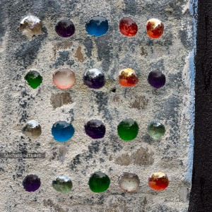 Walls Have Marbles :: Abstract urban texture photography - Artwork © Michel Godts