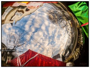 The World For A Christmas Ball :: Urban photography - Artwork © Michel Godts