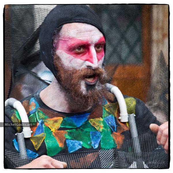 Anachrome Man :: Portraiture Photography Wall Art Print - Artwork © Michel Godts