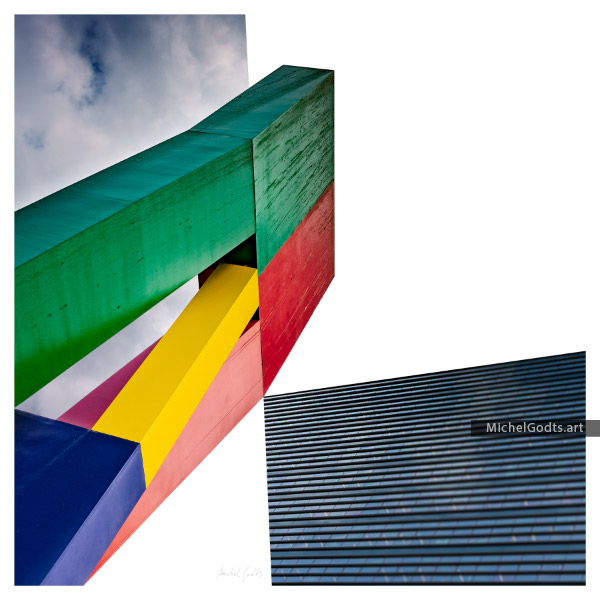 Color In The North :: Abstract Geometry Photography - Artwork © Michel Godts