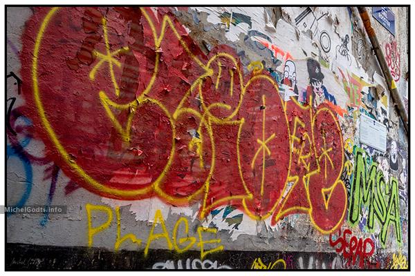 Dead End Graffiti | Urban graffiti photography - Artwork © Michel Godts