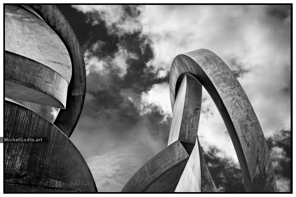 Double Folded Abstract :: Abstract realism photography - Artwork © Michel Godts