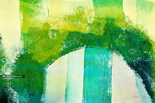 Jungle Arch :: Abstract expressionism photography - Artwork © Michel Godts