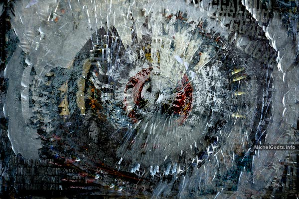 Galaxy Pulse :: Abstract expressionism photography-based digital art - Artwork © Michel Godts