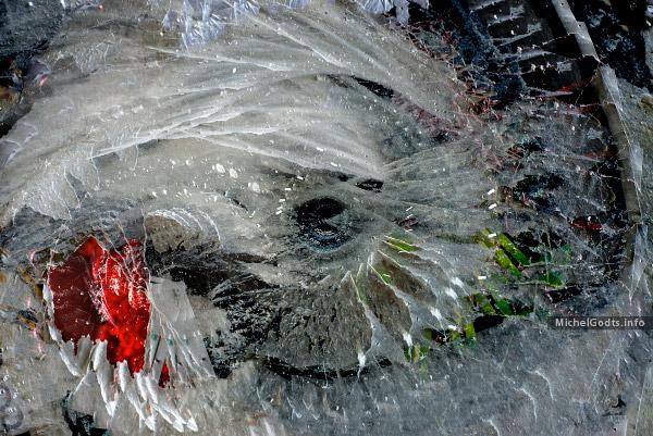 Nebula Embrace :: Abstract expressionism photography-based digital art - Artwork © Michel Godts