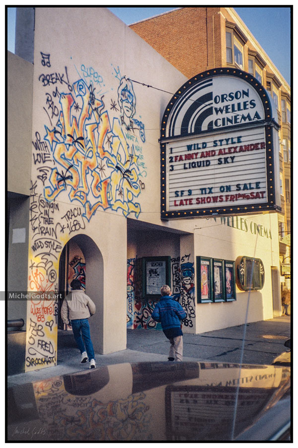 Orson Welles Cinema :: Urban street photography - Photographic Art