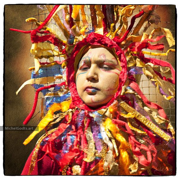 Portrait Of The Sun Folk :: Portraiture Photography Wall Art Print - Artwork © Michel Godts