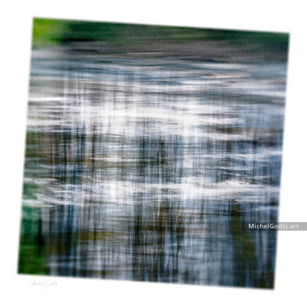 Reflection Mist :: Abstract realism photography - Artwork © Michel Godts