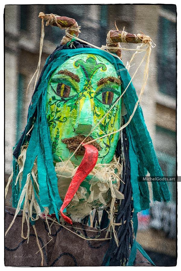 Spring Demon Portrait :: Portraiture Photography - Artwork © Michel Godts