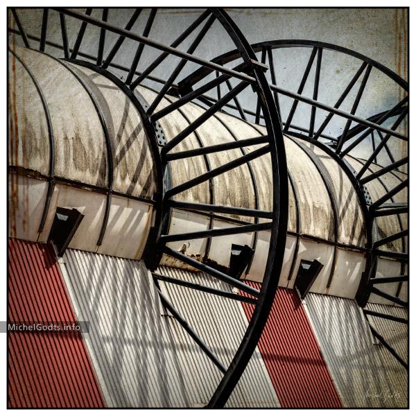 Artwork: Stadium Roof Abstract