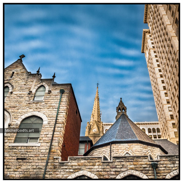 Trinity Cathedral :: Urban architecture photography - Artwork © Michel Godts